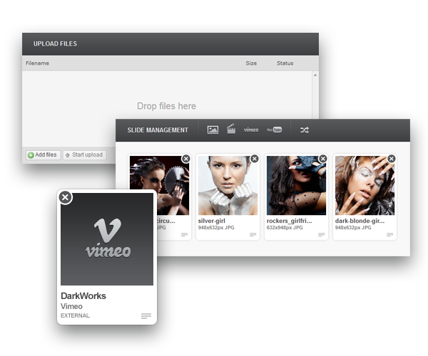 Konzept - Fullscreen Portfolio WordPress Theme - 2